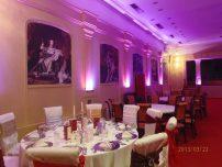 Spectacol de lumini la Salon Imperial Ballroom